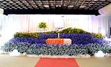 生花祭壇大型葬300プラン祭壇例,東光寺東光殿