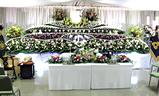 四ツ木斎場,生花祭壇大型葬250プラン祭壇例