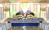 羅漢会館,生花祭壇大型葬200プラン祭壇例