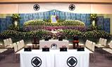 妙蓮寺斎場,生花祭壇大型葬200プラン祭壇例