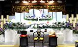 応善寺,生花祭壇一般葬120プラン祭壇例